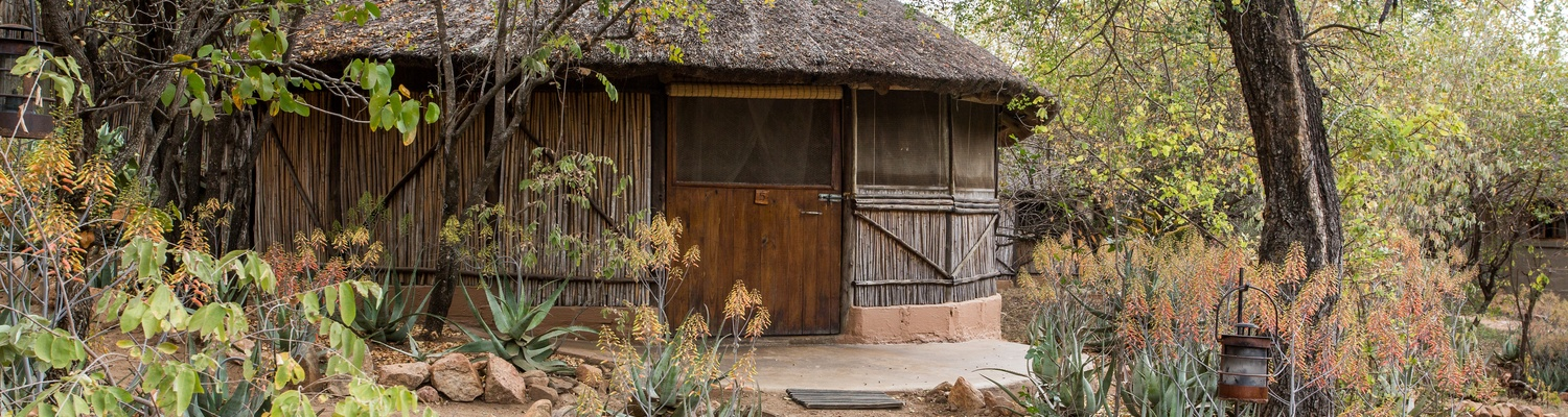 Family Reed and thatch hut at umlani bushcamp, situated in the timbavati private nature reserve in beauitful affordable south africa, the lowveld specifically