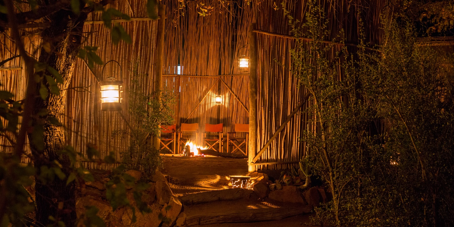 camp fire umlani bush camp authentic african bush experience